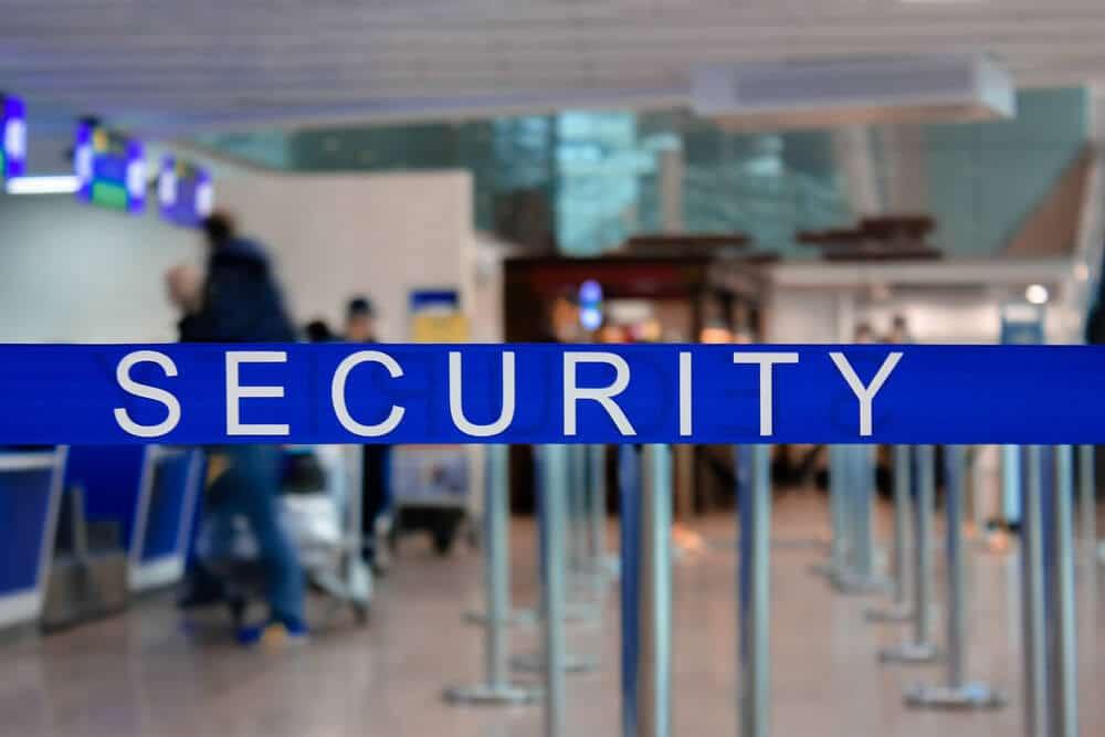 CBD podczas kontroli na lotnisku